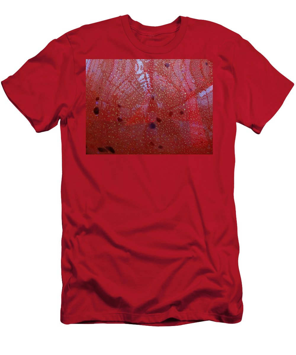 Looking Through The Glass Men's T-Shirt (Athletic Fit) featuring the photograph Looking Through The Glass by Dan Sproul