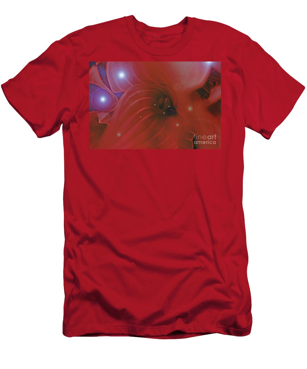 First Star Art Men's T-Shirt (Athletic Fit) featuring the photograph Love Potion by First Star Art