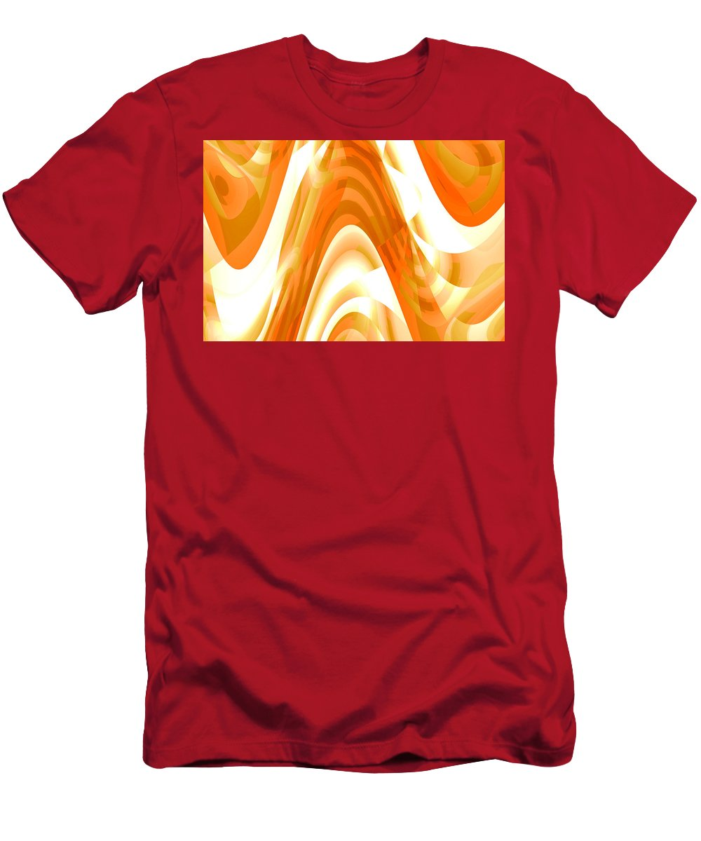 Moveonart! ageofaquariuscelebration Digital Abstract Art By Artist Jacob Kane Kanduch -- Omnetra Men's T-Shirt (Athletic Fit) featuring the digital art Moveonart Ageofaquariuscelebration by Jacob Kanduch
