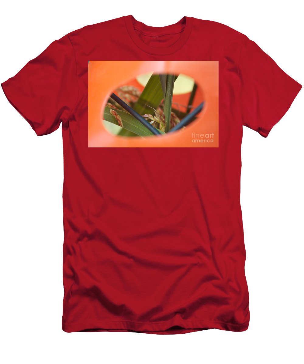 Plastic Men's T-Shirt (Athletic Fit) featuring the photograph Nature Always Finds A Way by Donato Iannuzzi