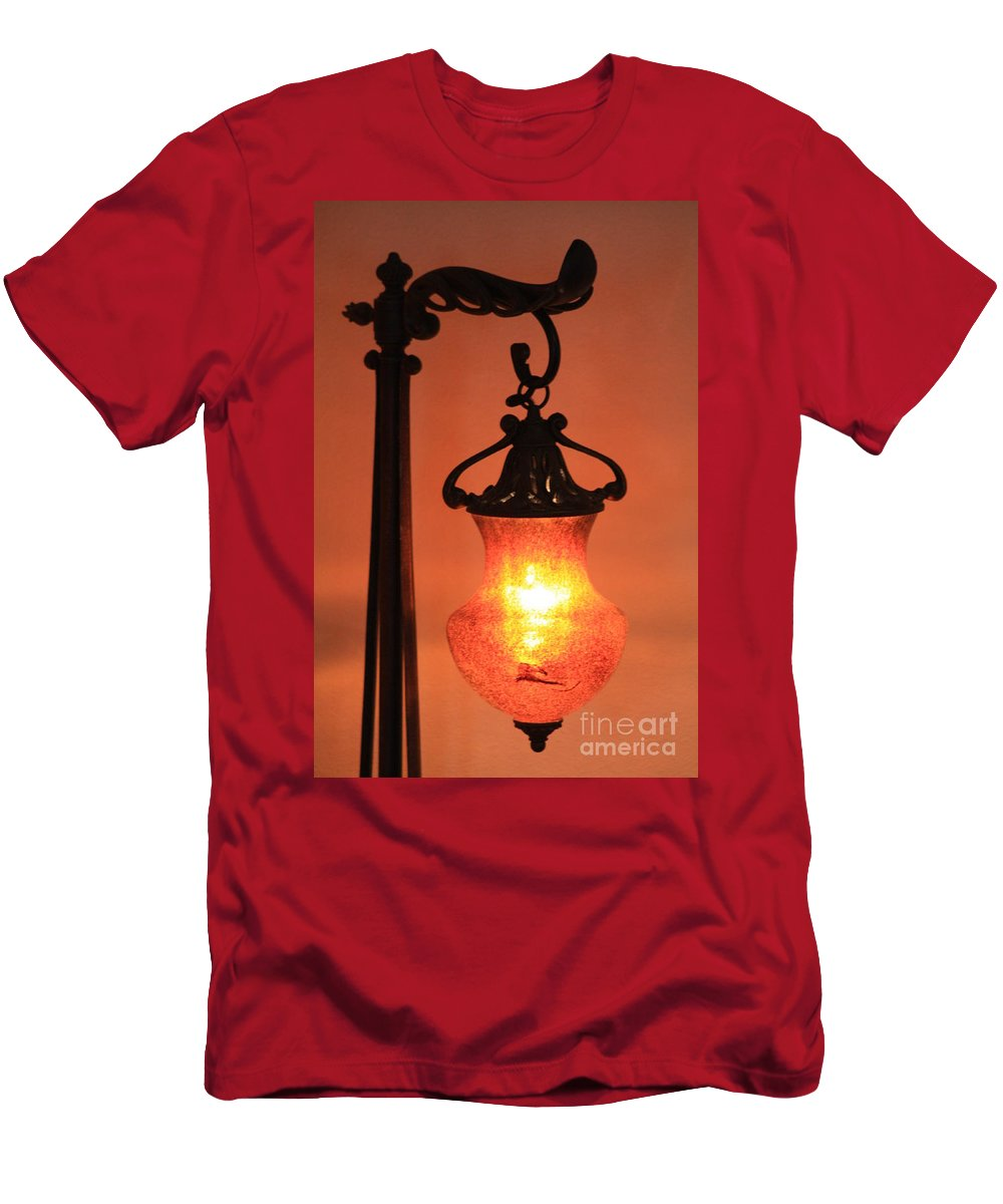 Evening Men's T-Shirt (Athletic Fit) featuring the photograph Night by Brandi Maher