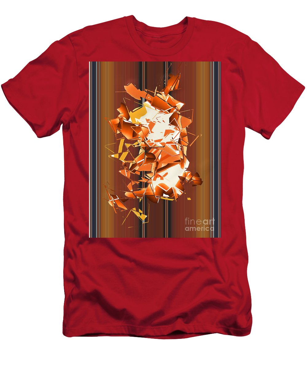 Men's T-Shirt (Athletic Fit) featuring the digital art No. 787 by John Grieder