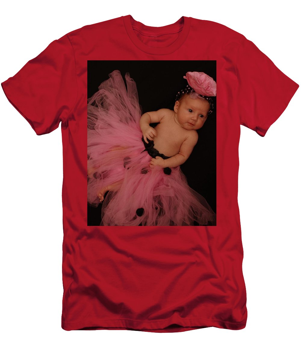 Pink Men's T-Shirt (Athletic Fit) featuring the photograph Pink Precious by Jackie Austin