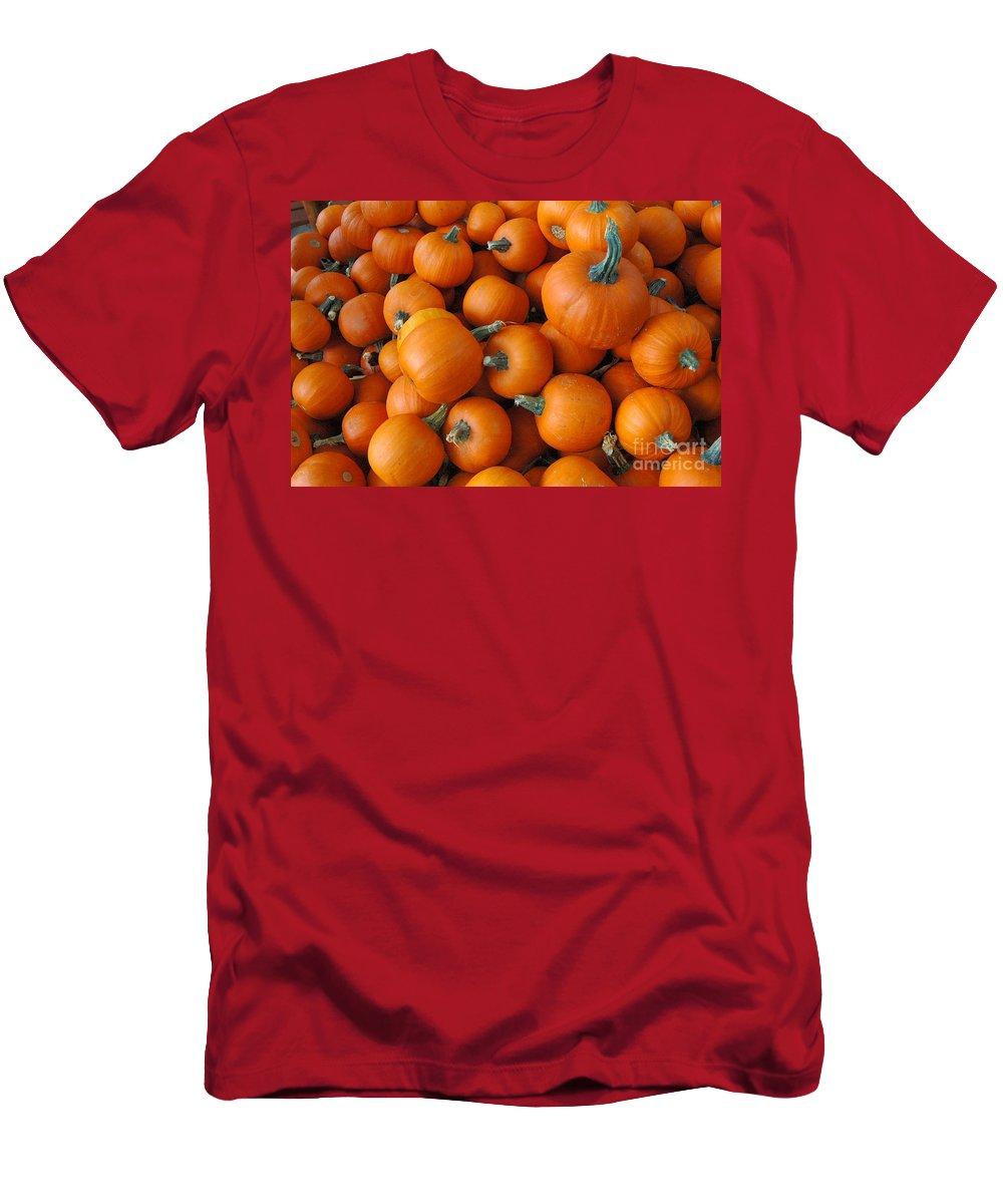 Orange Men's T-Shirt (Athletic Fit) featuring the photograph Punkin Head by Trish Hale