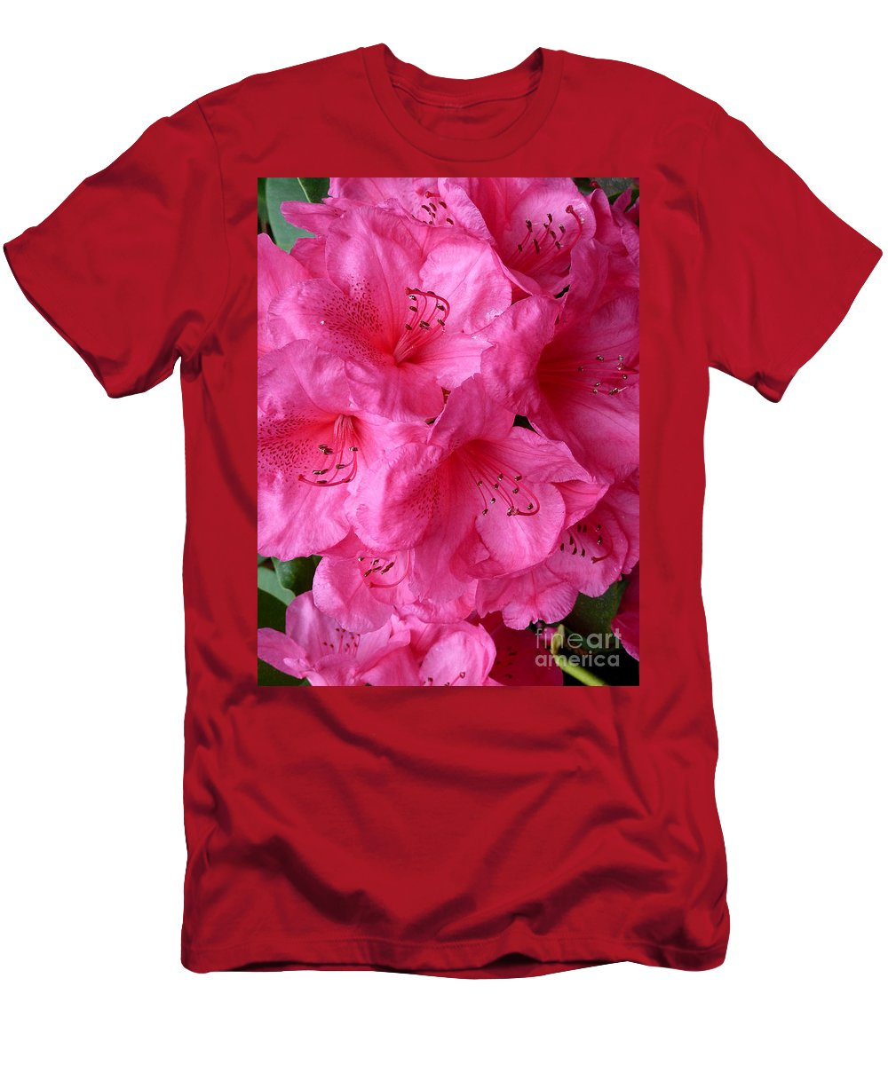 Abstract Men's T-Shirt (Athletic Fit) featuring the photograph Rhody Girl by Lauren Leigh Hunter Fine Art Photography