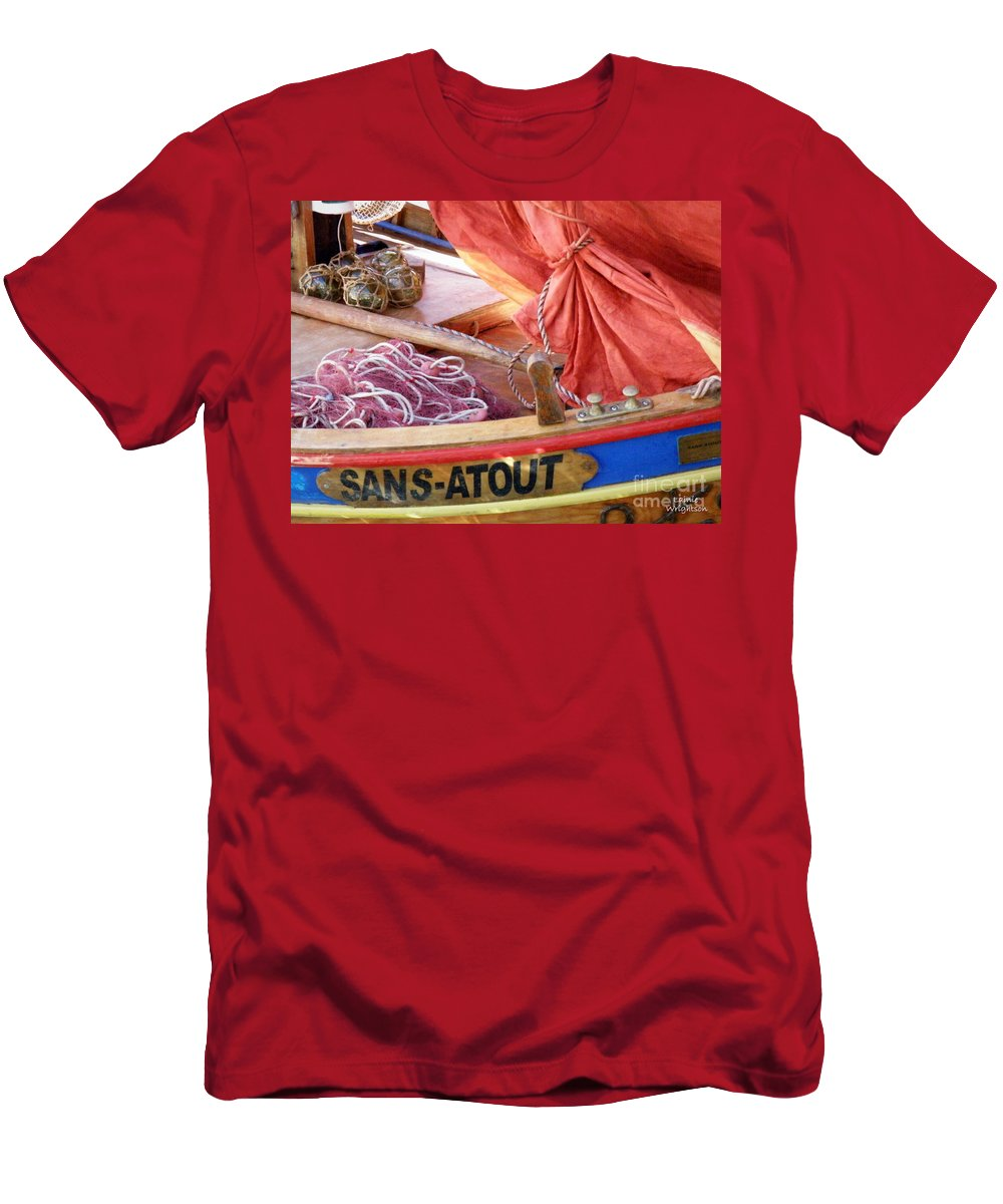 No Trump Men's T-Shirt (Athletic Fit) featuring the photograph Sans Atout Or No Trump by Lainie Wrightson