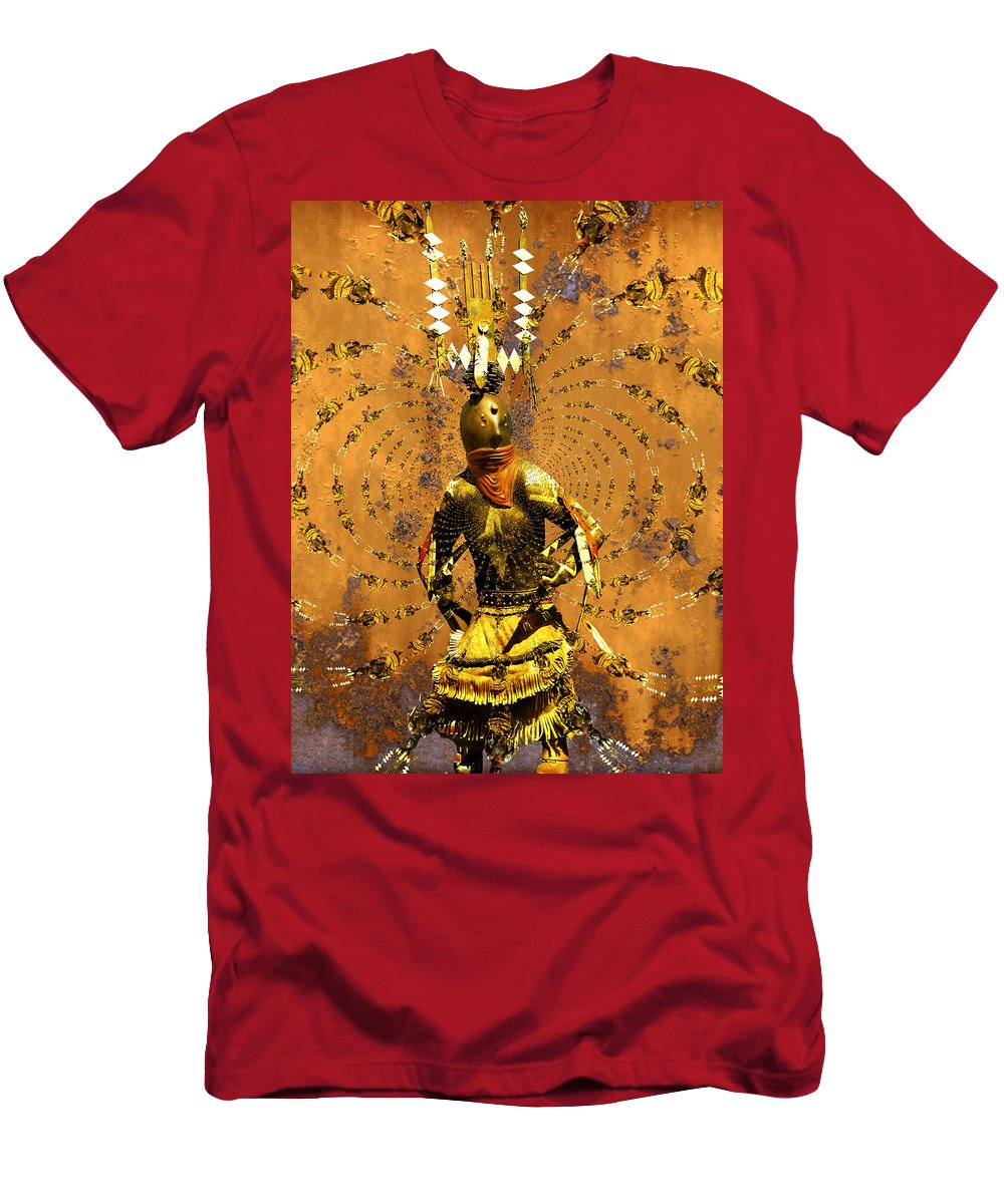 Kachina Men's T-Shirt (Athletic Fit) featuring the photograph Spirit Dance by Kurt Van Wagner