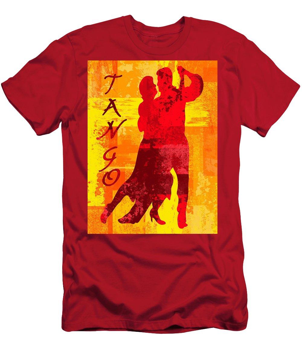 Tango T-Shirt featuring the digital art Tango by David G Paul