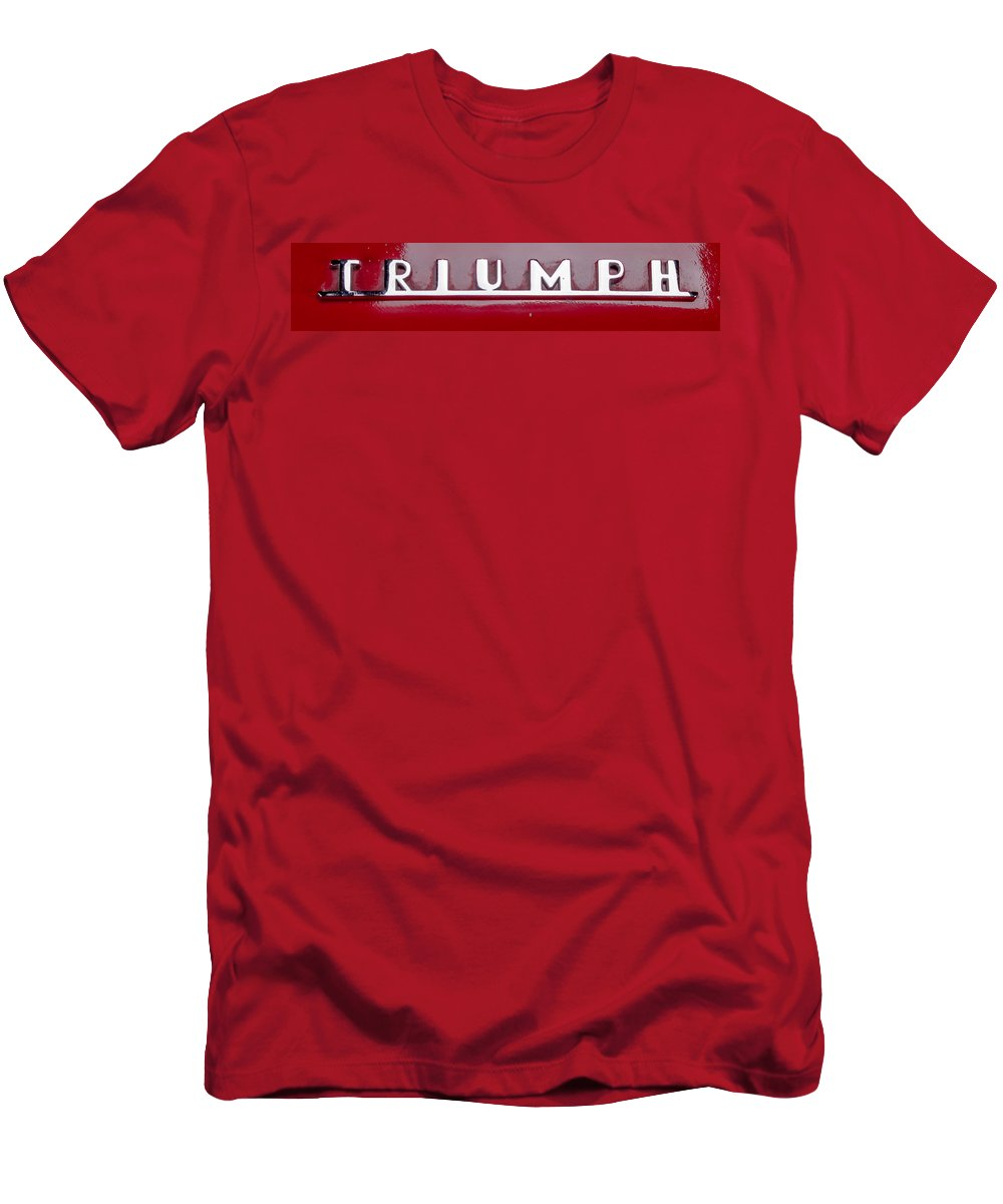 Tr3 Emblem Men's T-Shirt (Athletic Fit) featuring the photograph Triumph by Thomas Sellberg