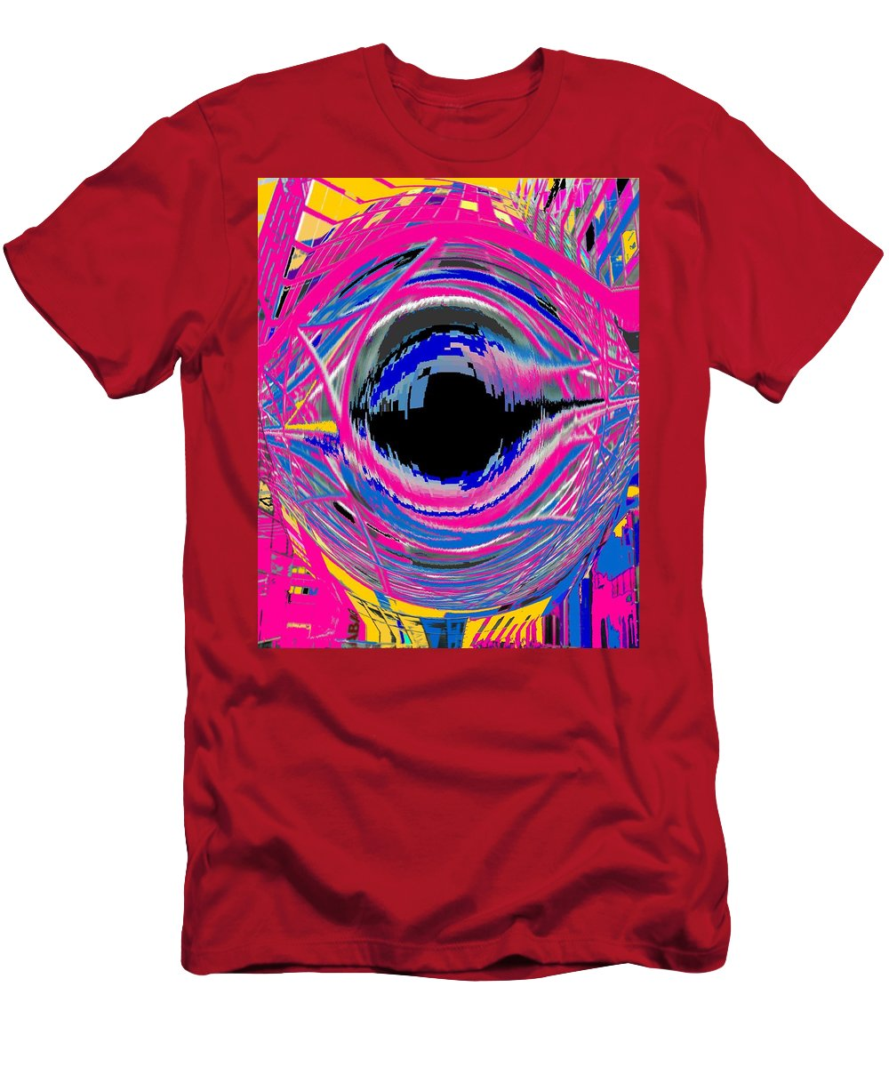 Abstract Men's T-Shirt (Athletic Fit) featuring the photograph Vienna Modern by Ian MacDonald