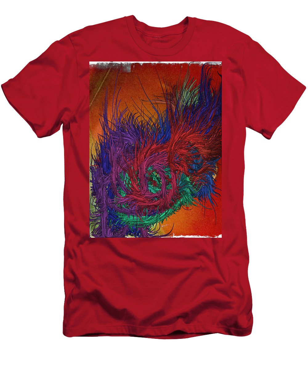Bright Men's T-Shirt (Athletic Fit) featuring the digital art Waters Of Life by Candee Lucas