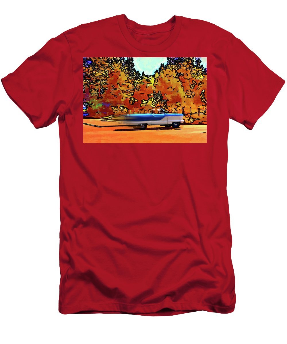 Nash Men's T-Shirt (Athletic Fit) featuring the photograph Zoom Zoom by Steve Harrington