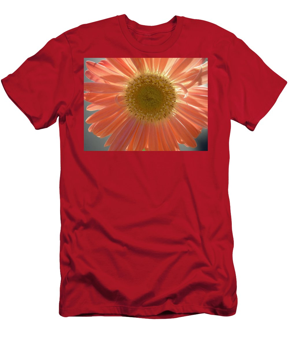 Gerbera Photographs Men's T-Shirt (Athletic Fit) featuring the photograph 0805 by Kimberlie Gerner