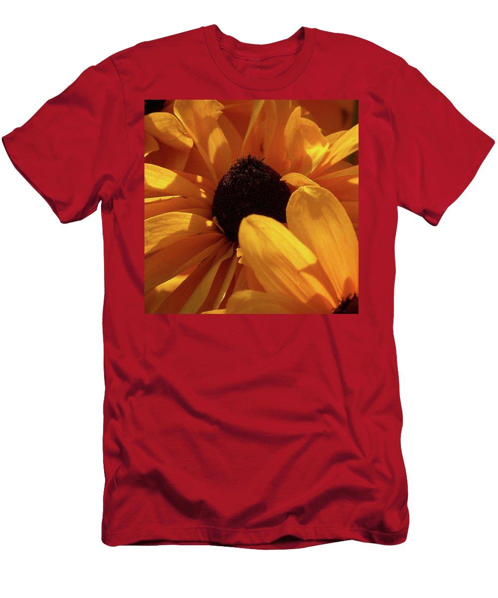 Jouko Lehto Men's T-Shirt (Athletic Fit) featuring the photograph Cutleaf Tiger Eye by Jouko Lehto