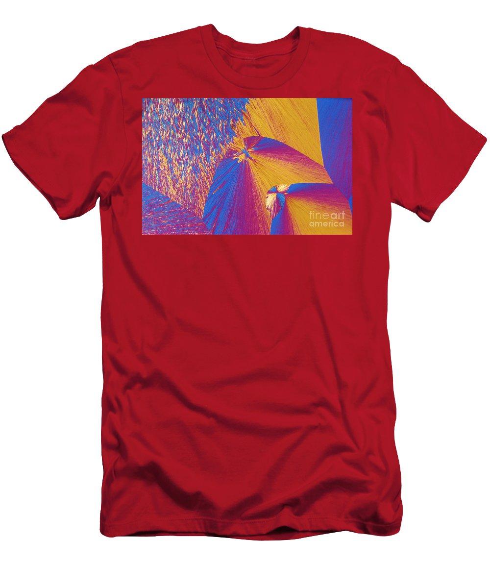 Polypropylene Men's T-Shirt (Athletic Fit) featuring the photograph Polypropylene by Michael W. Davidson