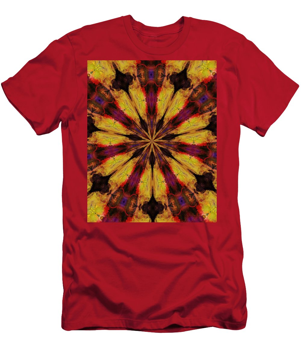 Fine Art Men's T-Shirt (Athletic Fit) featuring the digital art 10 Minute Art 120611 by David Lane