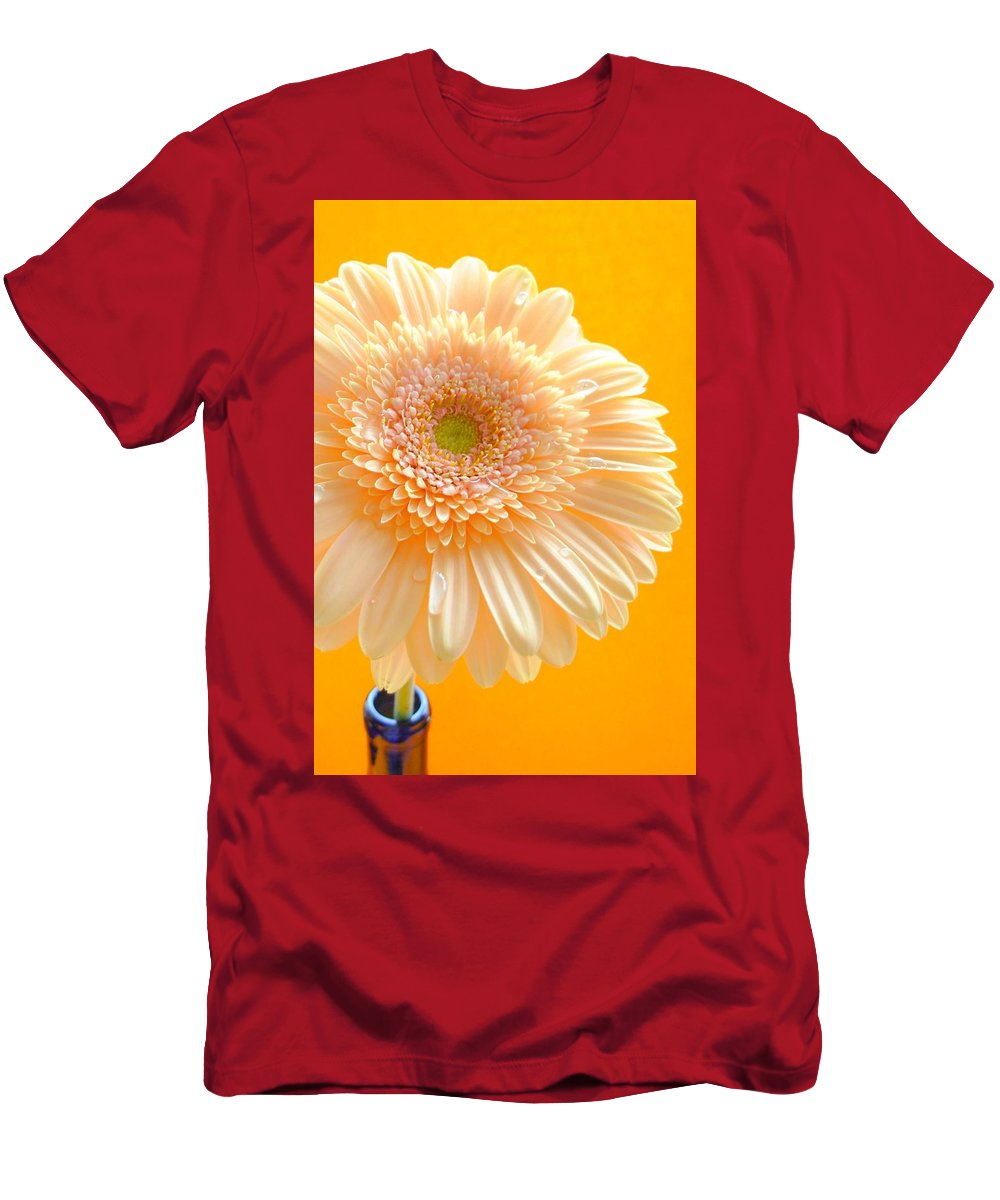 Gerbera Photographs Men's T-Shirt (Athletic Fit) featuring the photograph 1527-002c by Kimberlie Gerner