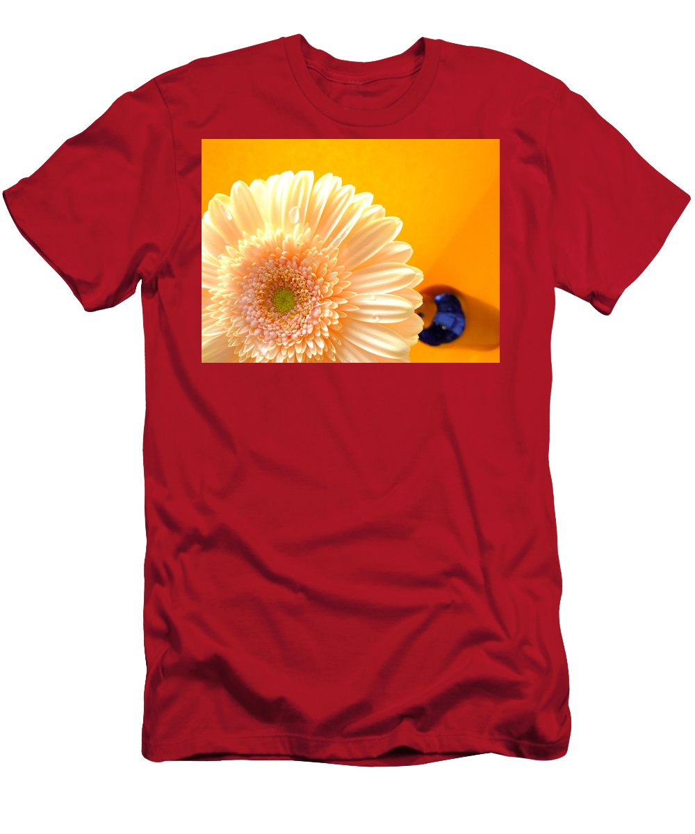 Gerbera Photographs Men's T-Shirt (Athletic Fit) featuring the photograph 1535-001 by Kimberlie Gerner