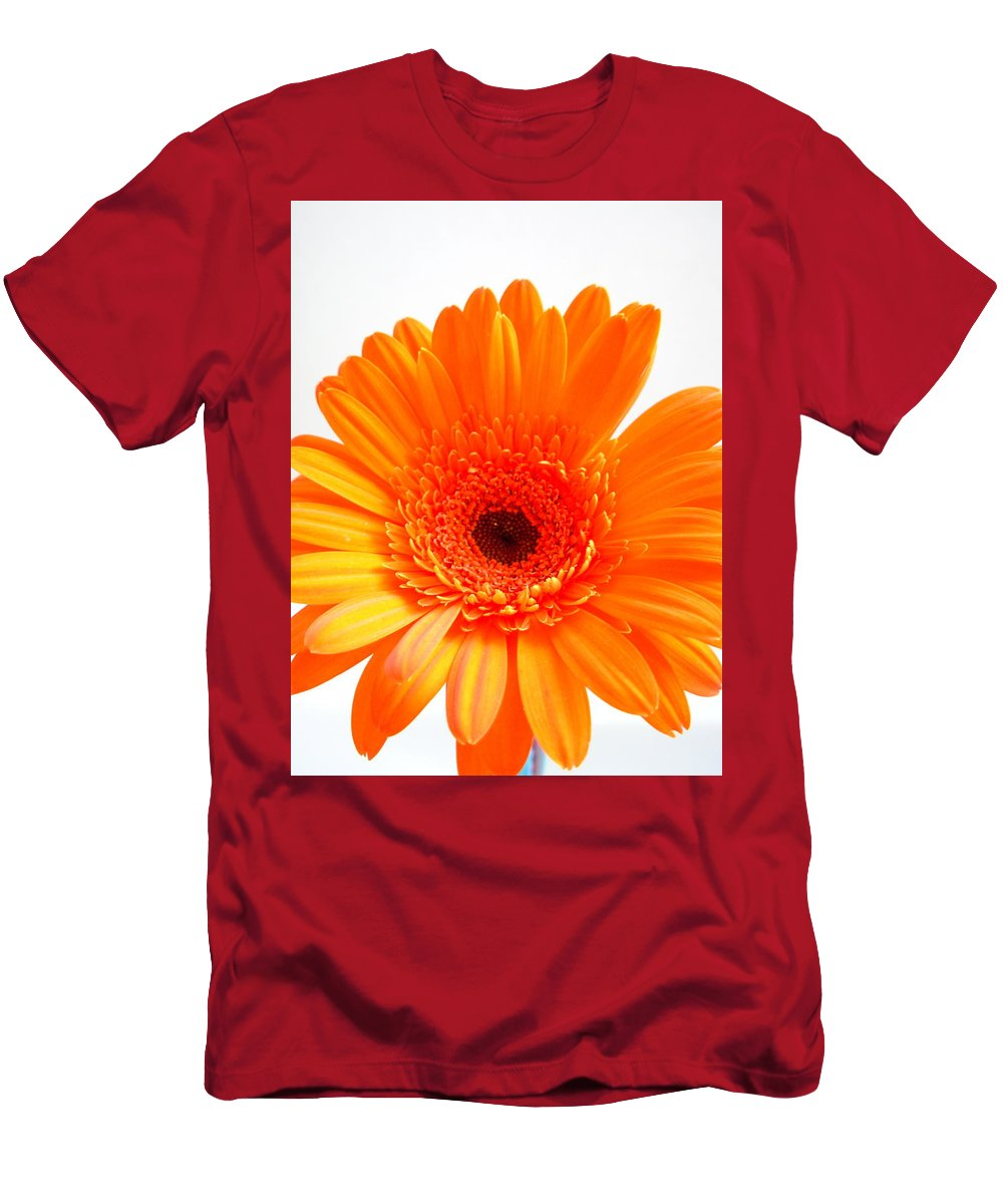 Gerbera Photographs Men's T-Shirt (Athletic Fit) featuring the photograph 1621-002 by Kimberlie Gerner