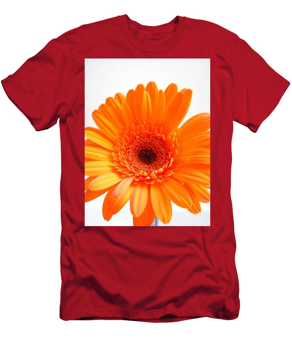 Gerbera Photographs Men's T-Shirt (Athletic Fit) featuring the photograph 1621c1 by Kimberlie Gerner
