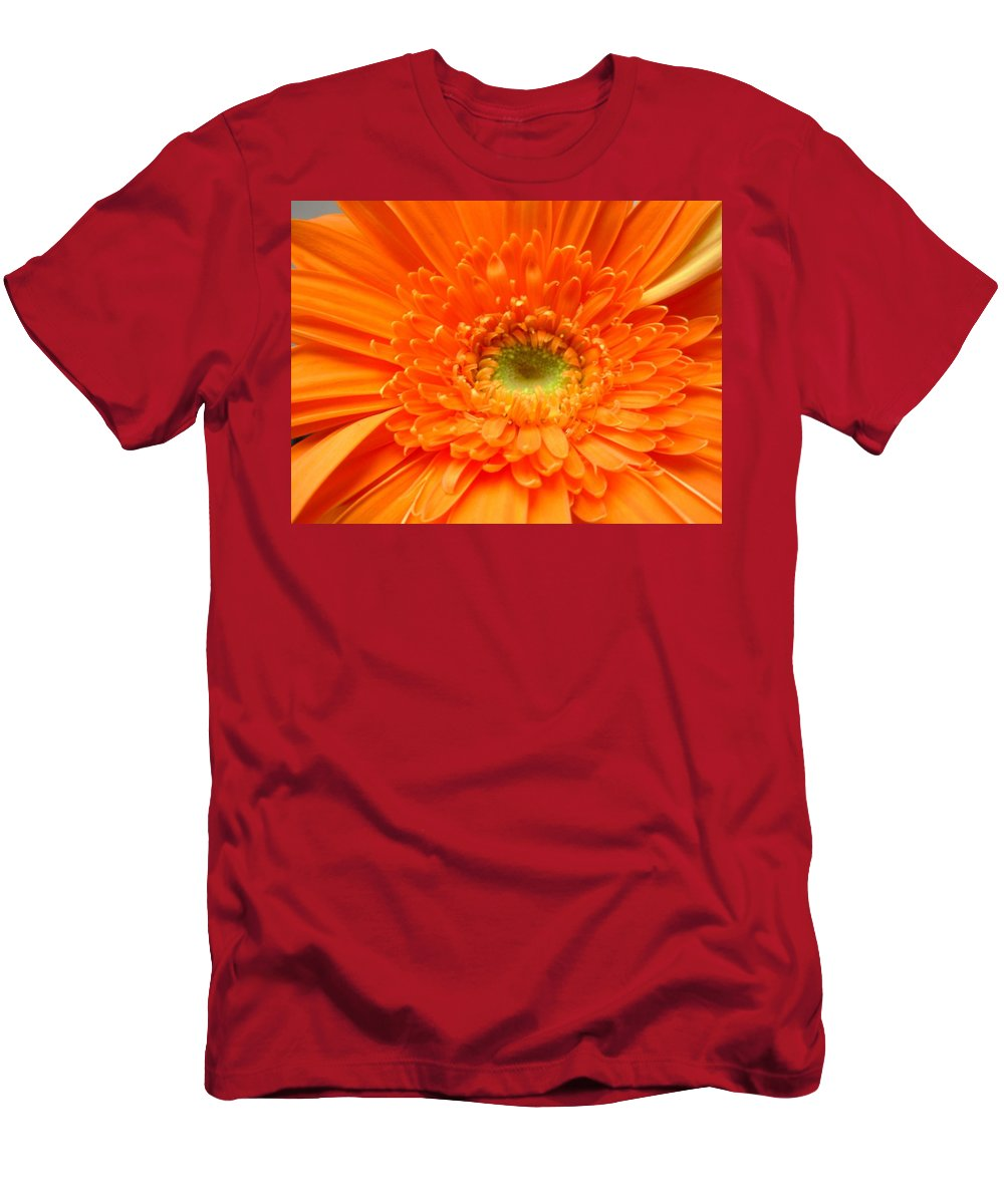 Gerbera Photographs Men's T-Shirt (Athletic Fit) featuring the photograph 1627c by Kimberlie Gerner