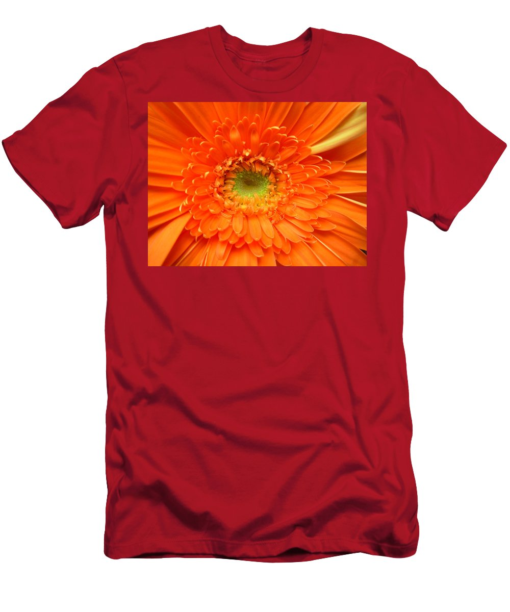 Gerbera Photographs Men's T-Shirt (Athletic Fit) featuring the photograph 1630 by Kimberlie Gerner