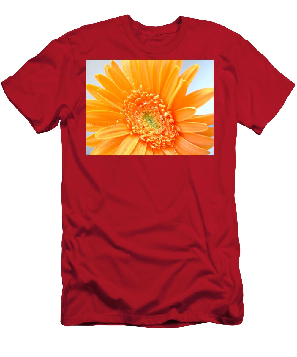 Gerbera Photographs Men's T-Shirt (Athletic Fit) featuring the photograph 1726c by Kimberlie Gerner