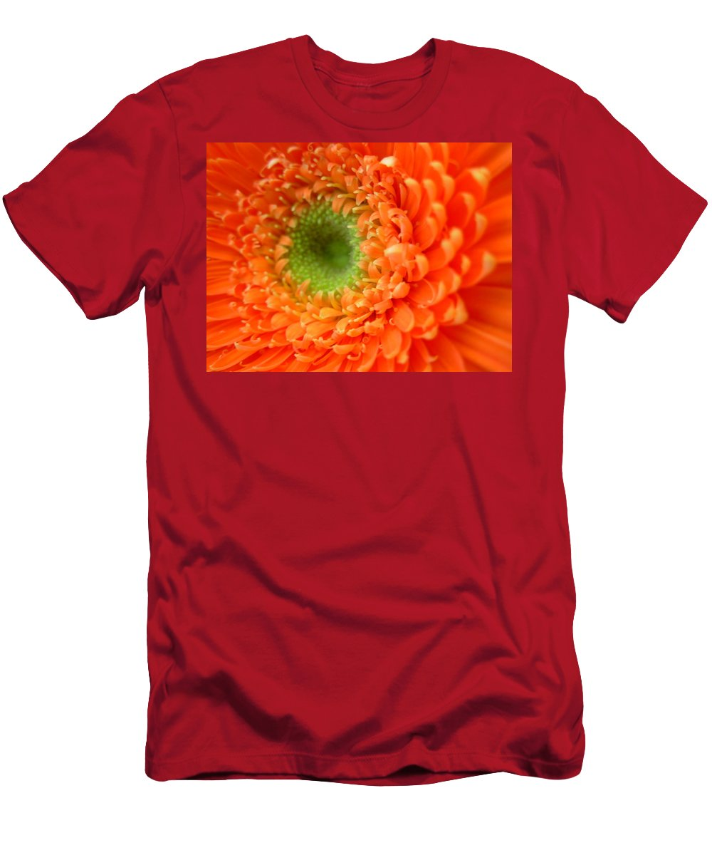 Gerbera Photographs Men's T-Shirt (Athletic Fit) featuring the photograph 1821 by Kimberlie Gerner