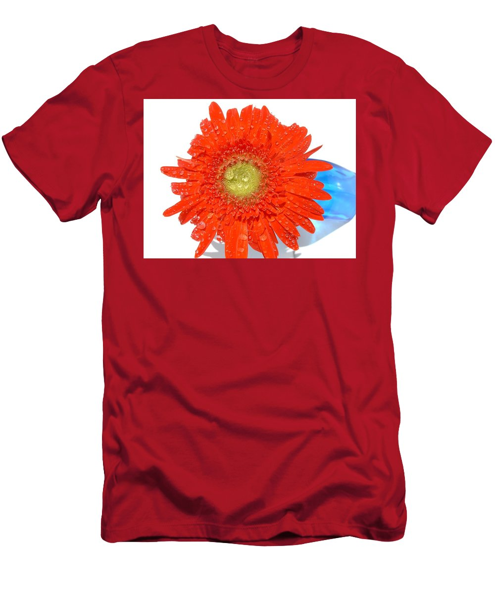 Gerbera Photographs Men's T-Shirt (Athletic Fit) featuring the photograph 2045ac by Kimberlie Gerner