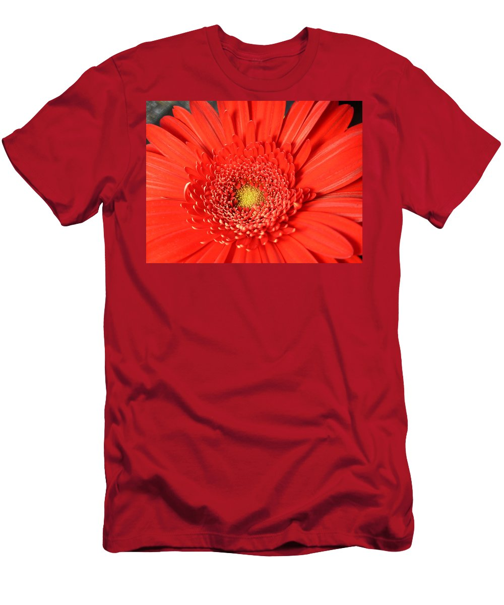 Gerbera Photographs Men's T-Shirt (Athletic Fit) featuring the photograph 3008 by Kimberlie Gerner