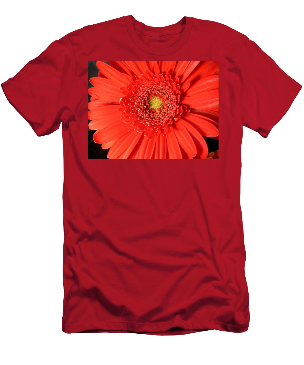Gerbera Photographs Men's T-Shirt (Athletic Fit) featuring the photograph 3010 by Kimberlie Gerner