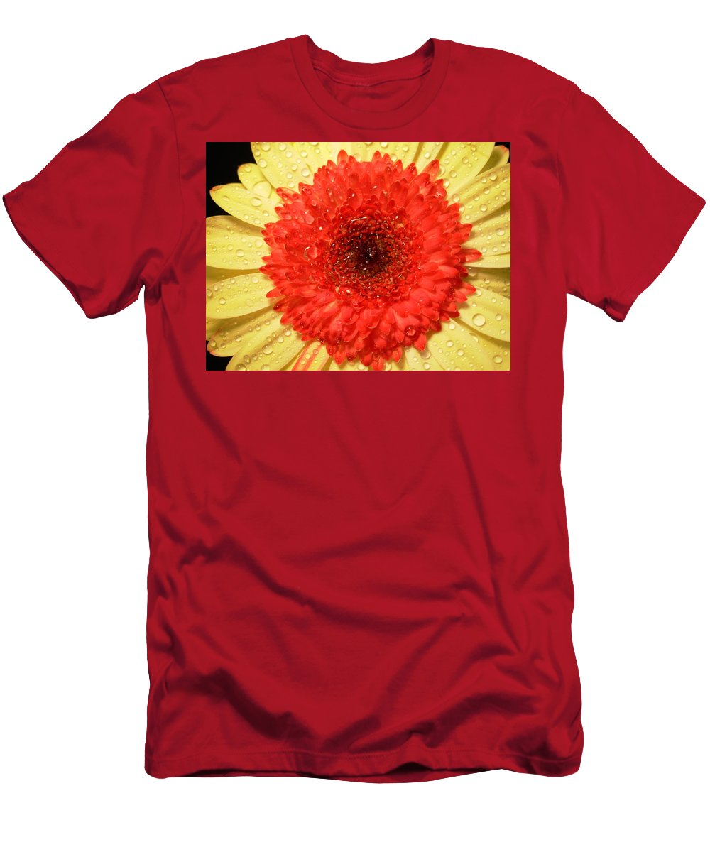 Gerbera Photographs Men's T-Shirt (Athletic Fit) featuring the photograph 3084 by Kimberlie Gerner