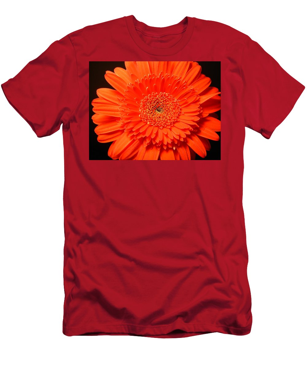 Gerbera Photographs Men's T-Shirt (Athletic Fit) featuring the photograph 3289c by Kimberlie Gerner