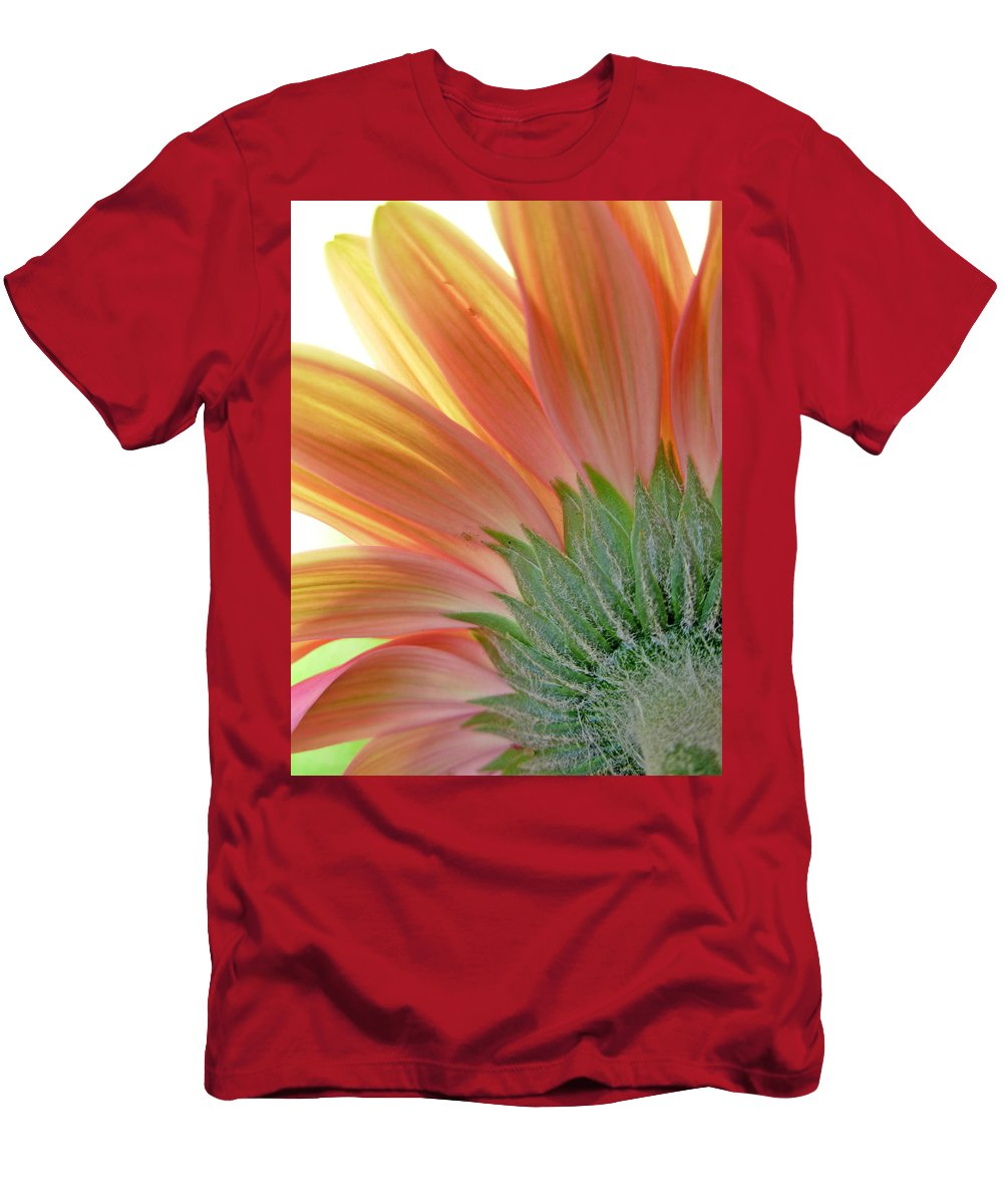 Gerbera Photographs Men's T-Shirt (Athletic Fit) featuring the photograph 62582 by Kimberlie Gerner
