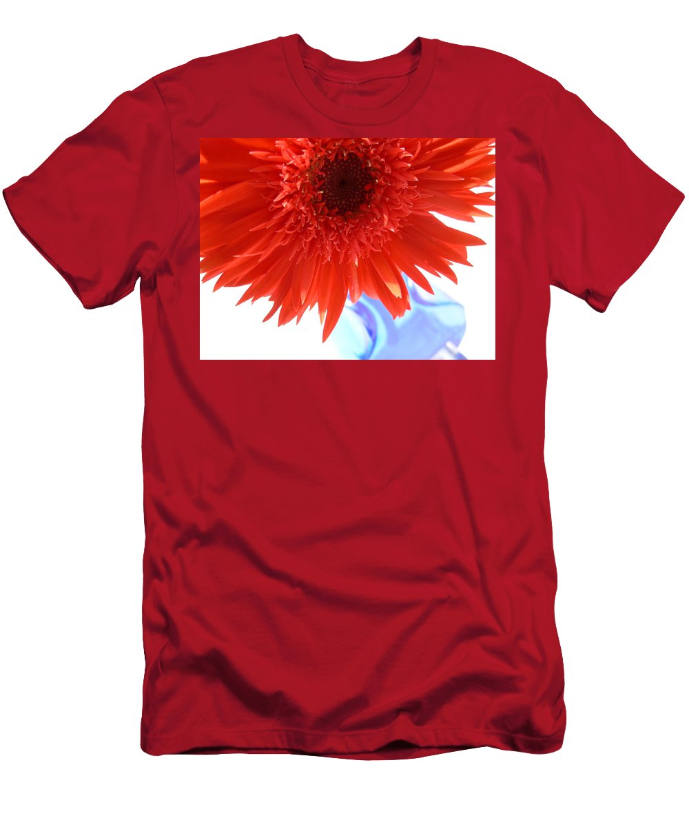 Gerbera Photographs Men's T-Shirt (Athletic Fit) featuring the photograph 6281 by Kimberlie Gerner