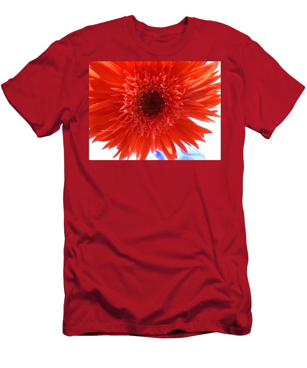 Gerbera Photographs Men's T-Shirt (Athletic Fit) featuring the photograph 6283 by Kimberlie Gerner