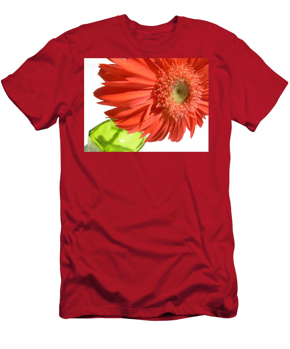 Gerbera Photographs Men's T-Shirt (Athletic Fit) featuring the photograph 6330 by Kimberlie Gerner