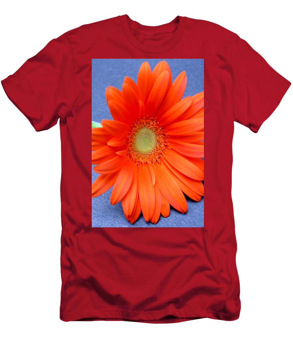 Gerbera Photographs Men's T-Shirt (Athletic Fit) featuring the photograph 67441a by Kimberlie Gerner