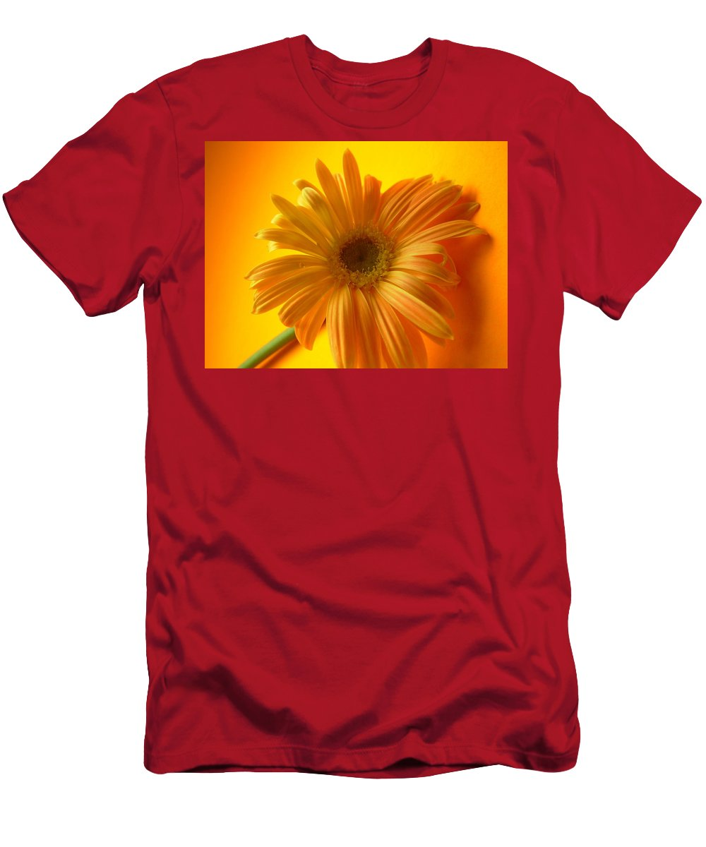 Gerbera Photographs Men's T-Shirt (Athletic Fit) featuring the photograph 7321 by Kimberlie Gerner