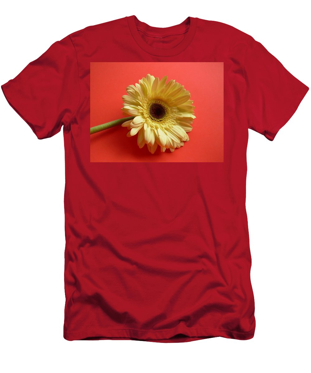 Gerbera Photographs Men's T-Shirt (Athletic Fit) featuring the photograph 7696 by Kimberlie Gerner