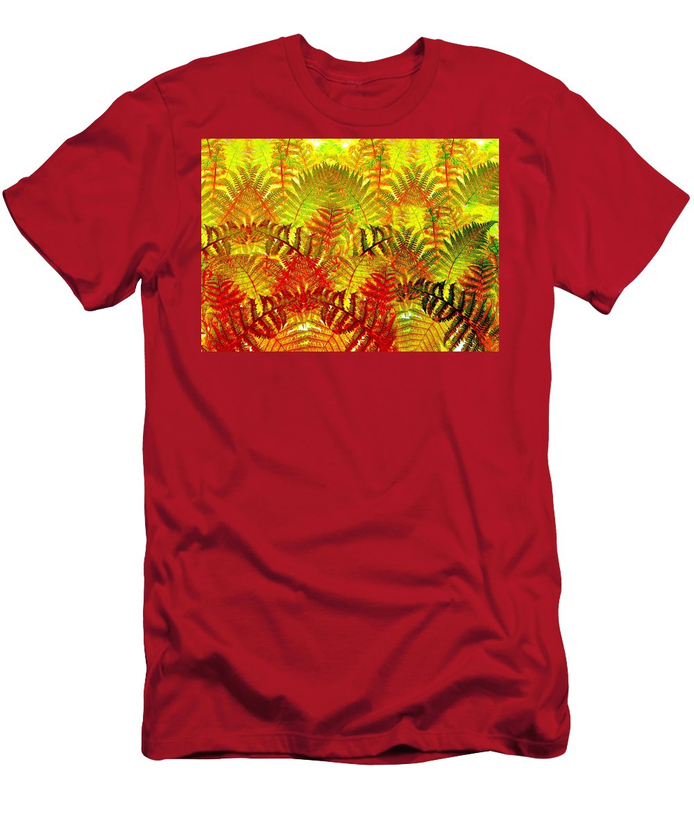 Abstract Fusion Men's T-Shirt (Athletic Fit) featuring the digital art Abstract Fusion 23 by Will Borden