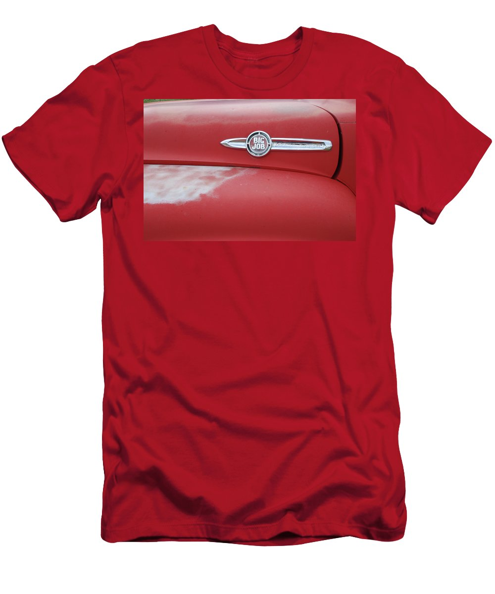 Truck Men's T-Shirt (Athletic Fit) featuring the photograph Big Job by Ron Weathers