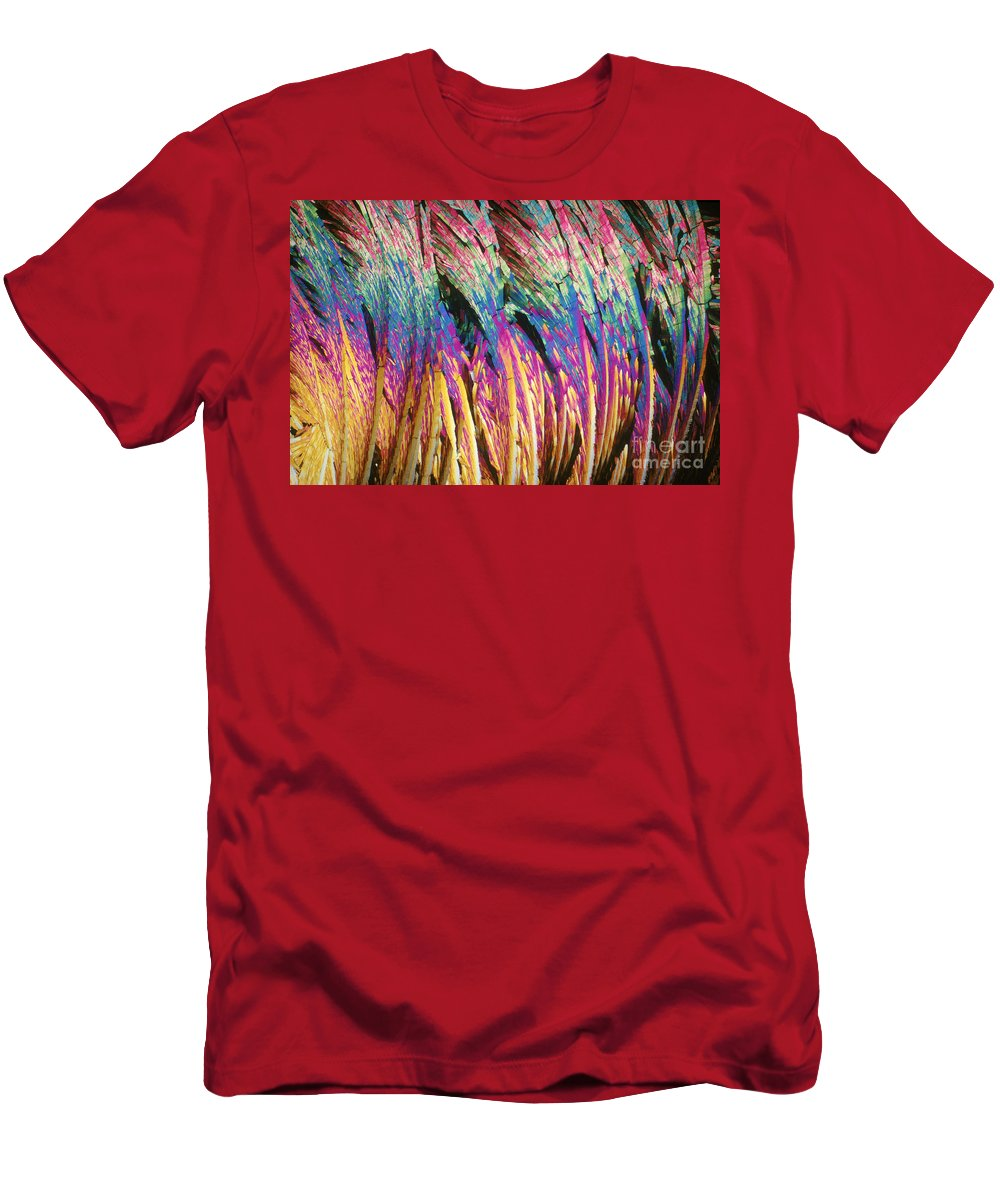 Capsaicinoid Men's T-Shirt (Athletic Fit) featuring the photograph Capsaicin by Michael W. Davidson