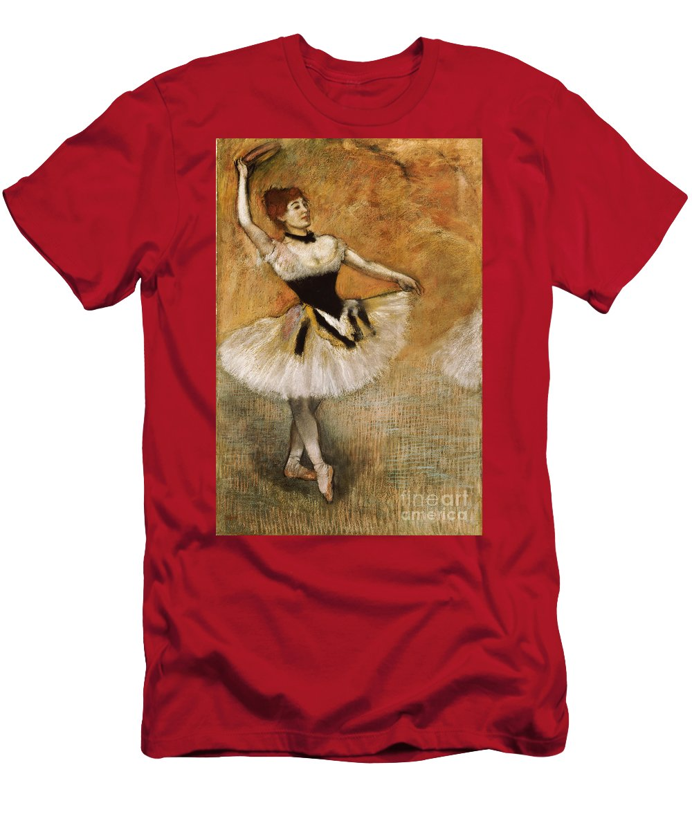 eb0eab7266d2 Dancer With Tambourine T-Shirt for Sale by Edgar Degas