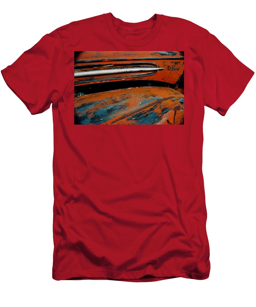 Ford Men's T-Shirt (Athletic Fit) featuring the photograph Ford by Ron Weathers