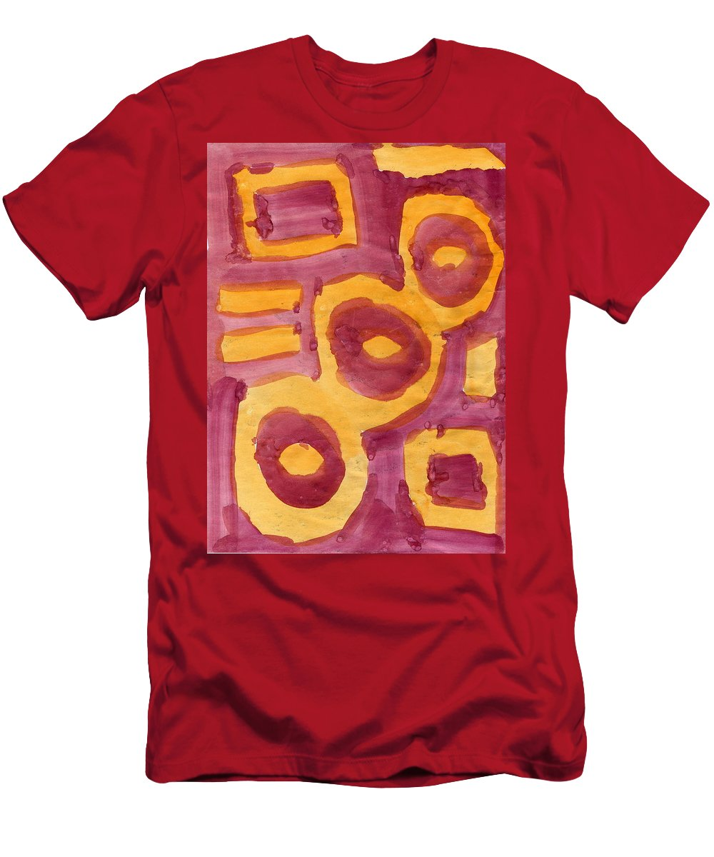 Lost Souls Men's T-Shirt (Athletic Fit) featuring the painting Lost Souls by Taylor Webb