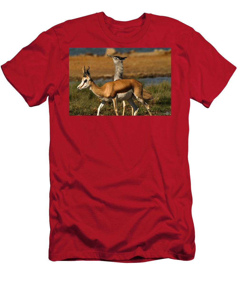 Action Men's T-Shirt (Athletic Fit) featuring the photograph Mind Yourself by Alistair Lyne