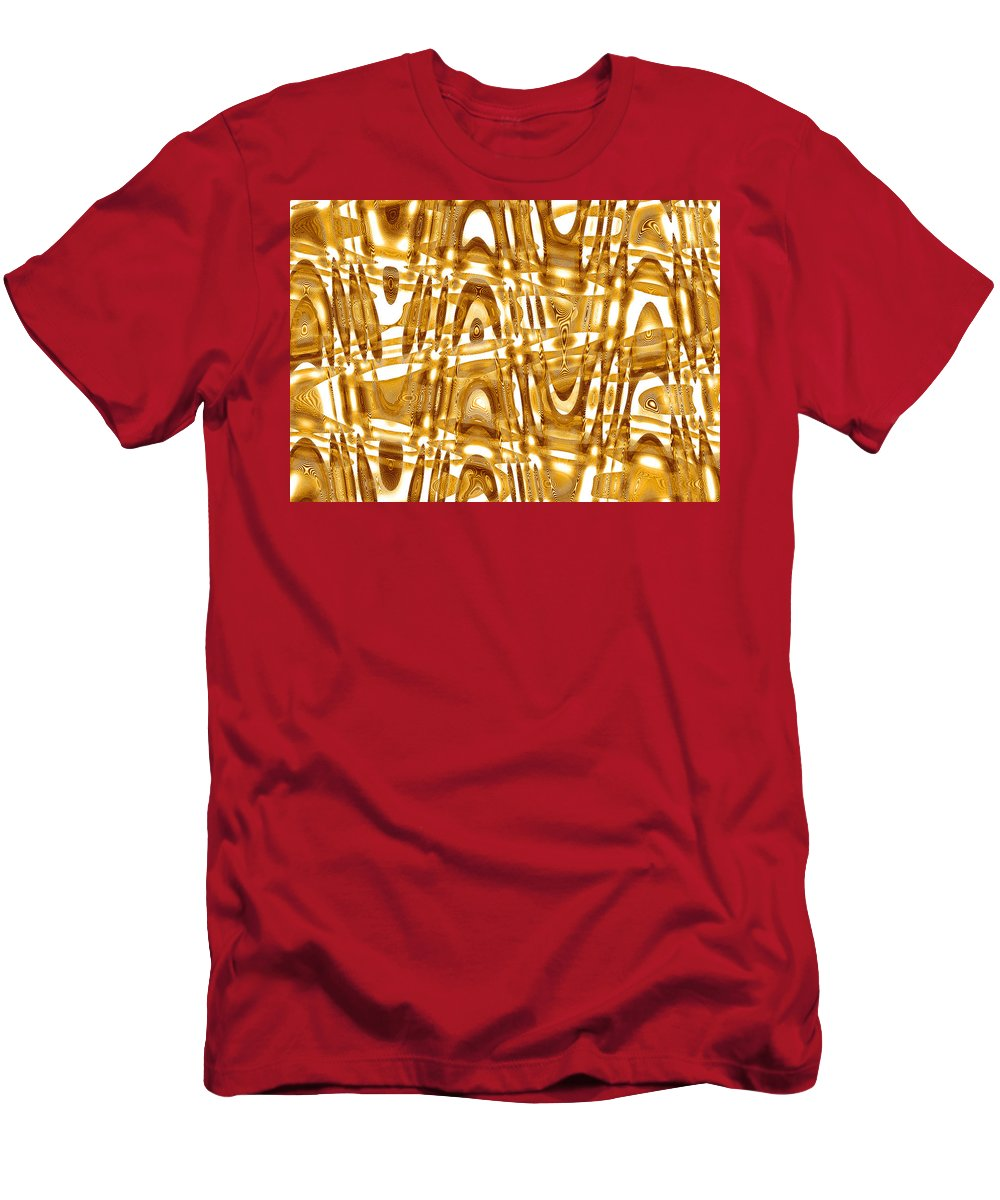 Moveonart! Global Gathering. Branch -- Digital Abstract Art By Artist Jacob Kane -- Omnetra Men's T-Shirt (Athletic Fit) featuring the digital art Moveonart Mysteryunsolved by Jacob Kanduch