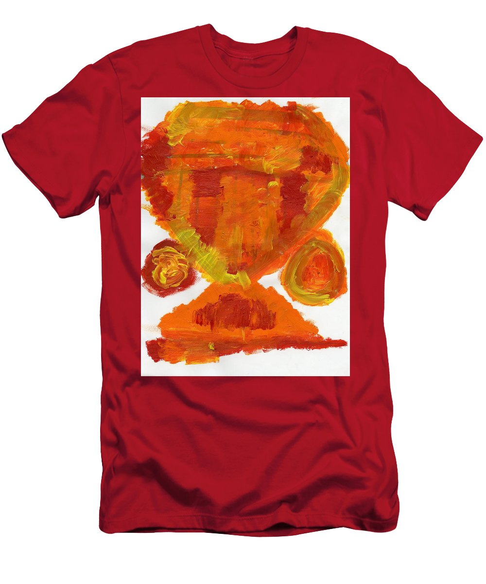 Nameless Input Men's T-Shirt (Athletic Fit) featuring the painting Nameless Input by Taylor Webb