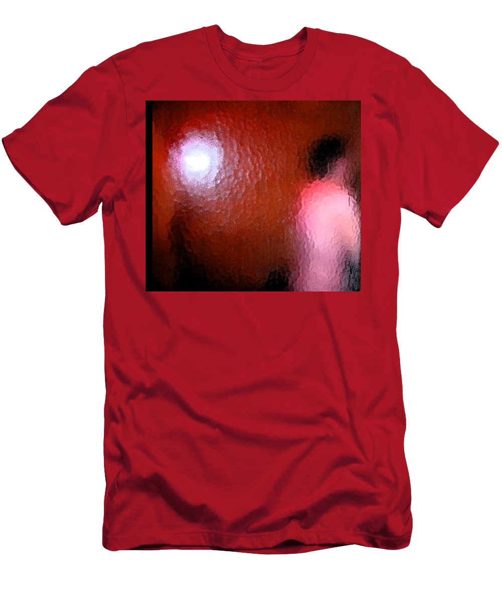 Abstract Men's T-Shirt (Athletic Fit) featuring the digital art Nude Impression 4 by Lenore Senior